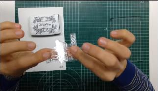 Como estampar sellos acrílicos