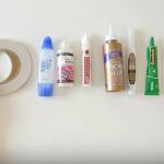 ¿Qué pegamentos y adhesivos utilizar en el scrap?