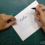 Cómo crear tu propia plantilla para bordar en los proyectos de scrap