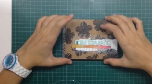 Cómo hacer un mini álbum con sobres kraft